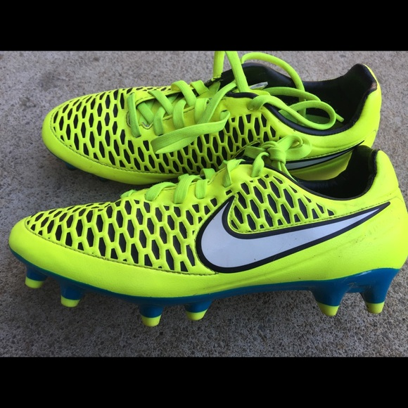 Boys Youth Nike Cleats Bright Yellow